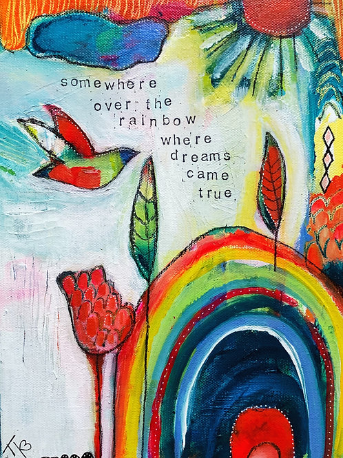 Where Dreams Came True, 9 x 12 on canvas