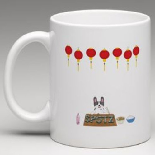 SpotZ The Frenchie™: SUSHI - Coffee Mug