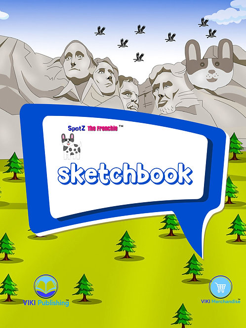 SpotZ The Frenchie™ Sketchbook