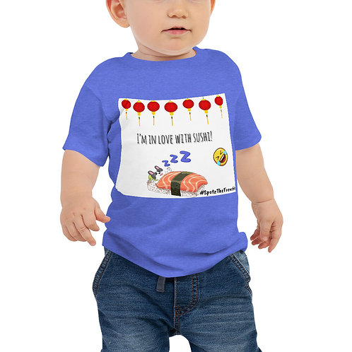 SpotZ The Frenchie™ Baby Jersey Short Sleeve Tee