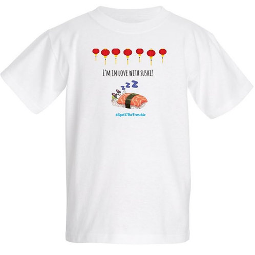 I'M IN LOVE WITH SUSHI - Kids T-Shirt