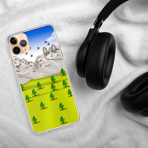 SpotZ The Frenchie™ Branded Mt Rushmore iPhone Case