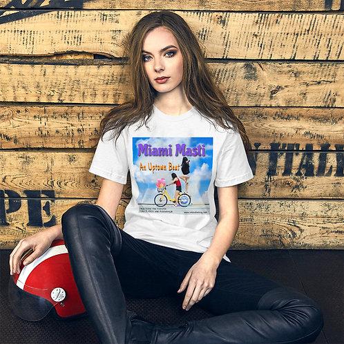 Miami Masti Short-Sleeve Unisex T-Shirt( Promotional Merchandise)