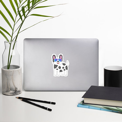 SpotZ The Frenchie™ Cute Bubble-free stickers