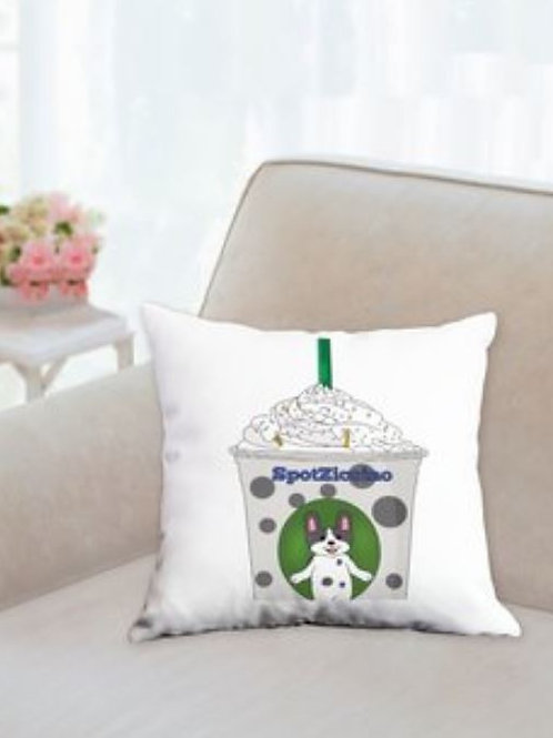 SpotZ The Frenchie™: Spotziccino pillow