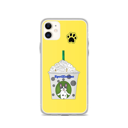 SPOTZICCINO™ Apple iPhone Case (Yellow)