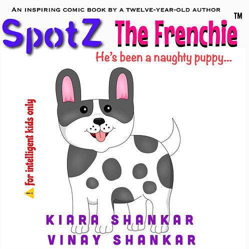 SpotZ The Frenchie®:He's been a naughty puppy...