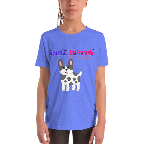 SpotZ The Frenchie™ Youth Short Sleeve T-Shirt