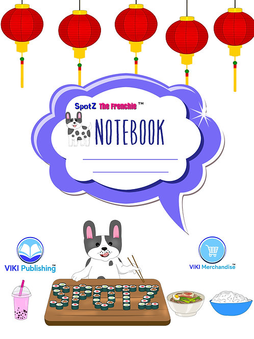 SpotZ The Frenchie™ Composition Notebook