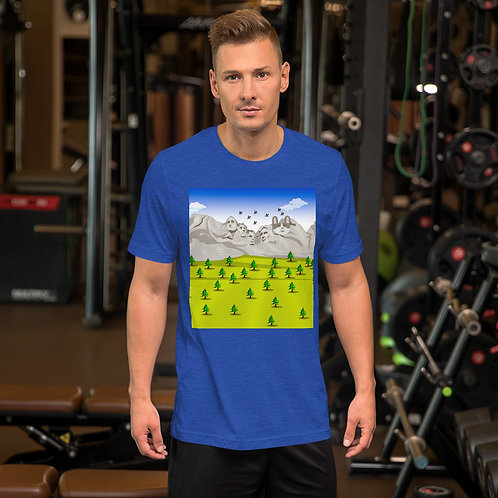 Mt Rushmore Short-Sleeve Unisex T-Shirt