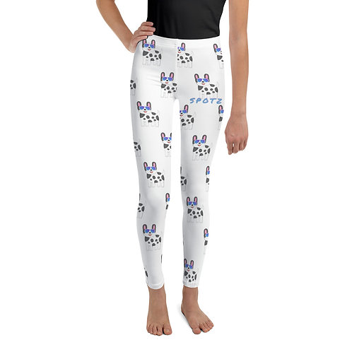 SpotZ The Frenchie™  Branded Youth Leggings(SpotZ Design)