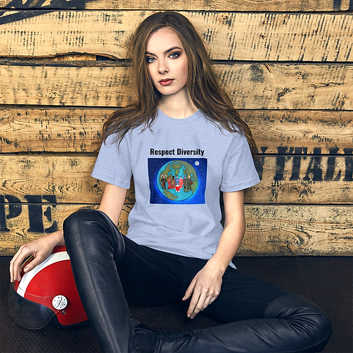 Respect Diversity - Short-Sleeve Unisex T-Shirt