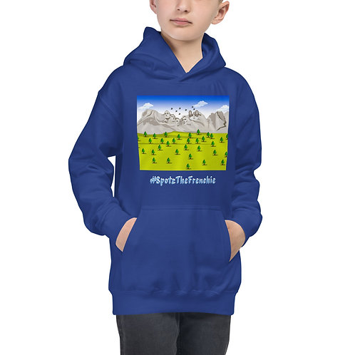 SpotZ The Frenchie™ Mount Rushmore - Kids Hoodie
