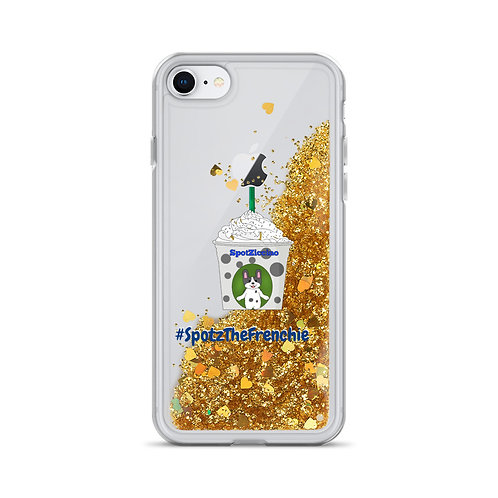 Spotziccino™ Liquid Glitter iPhone Case