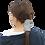Thumbnail: VIKI Merchandise™ Neck Gaiter (Gray Polka Dots)