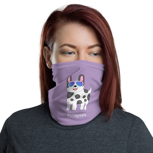 SpotZ The Frenchie™ Neck gaiter (Purple)
