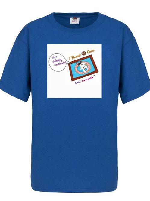 SpotZ The Frenchie™ I Donut Care - Kids T-Shirt
