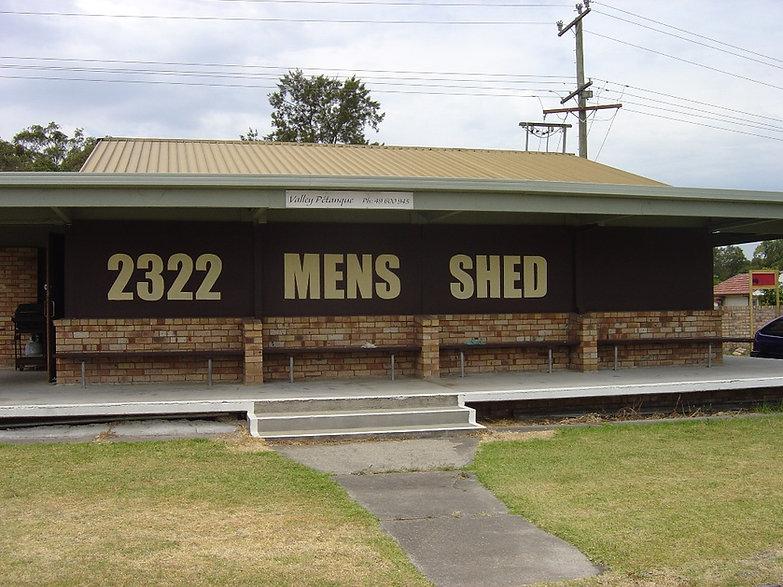 2322 Men's Shed