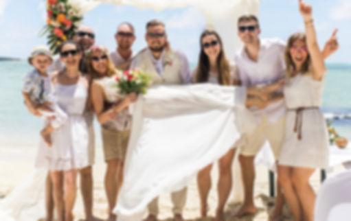 Hochzeit einsame Insel