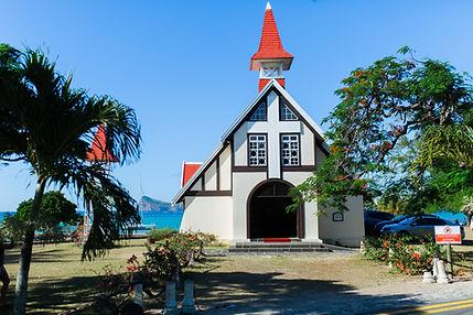 Church Wedding in Mauritius