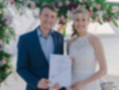 zivilrechtliche Hochzeit Mauritius