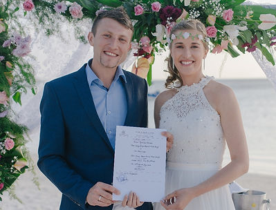 Civil Wedding in Mauritius