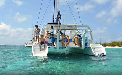 Catamaran Wedding Mauritius by Happily Forever
