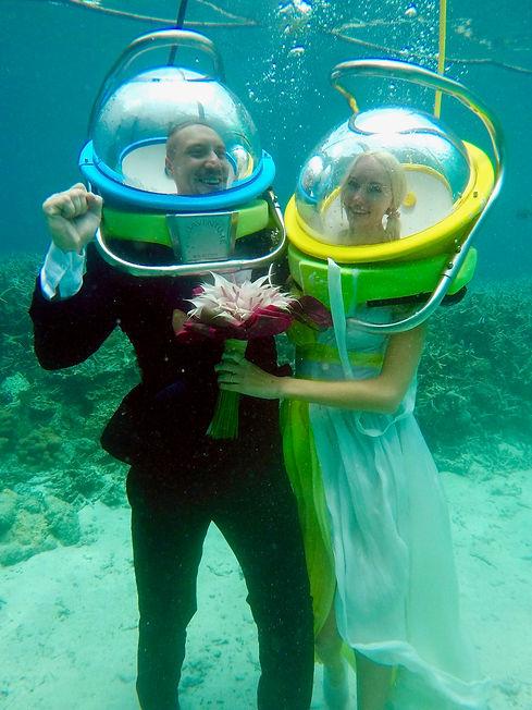 Unterwasser Heiraten Mauritius