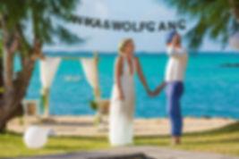 Heiraten in einer Strandvilla