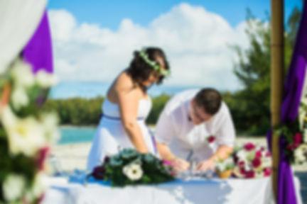 Heiraten auf einer einsamen Insel
