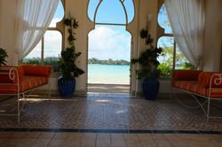 Mariage, villa au bord de mer
