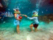 Unterwasser-Hochzeit Mauritius