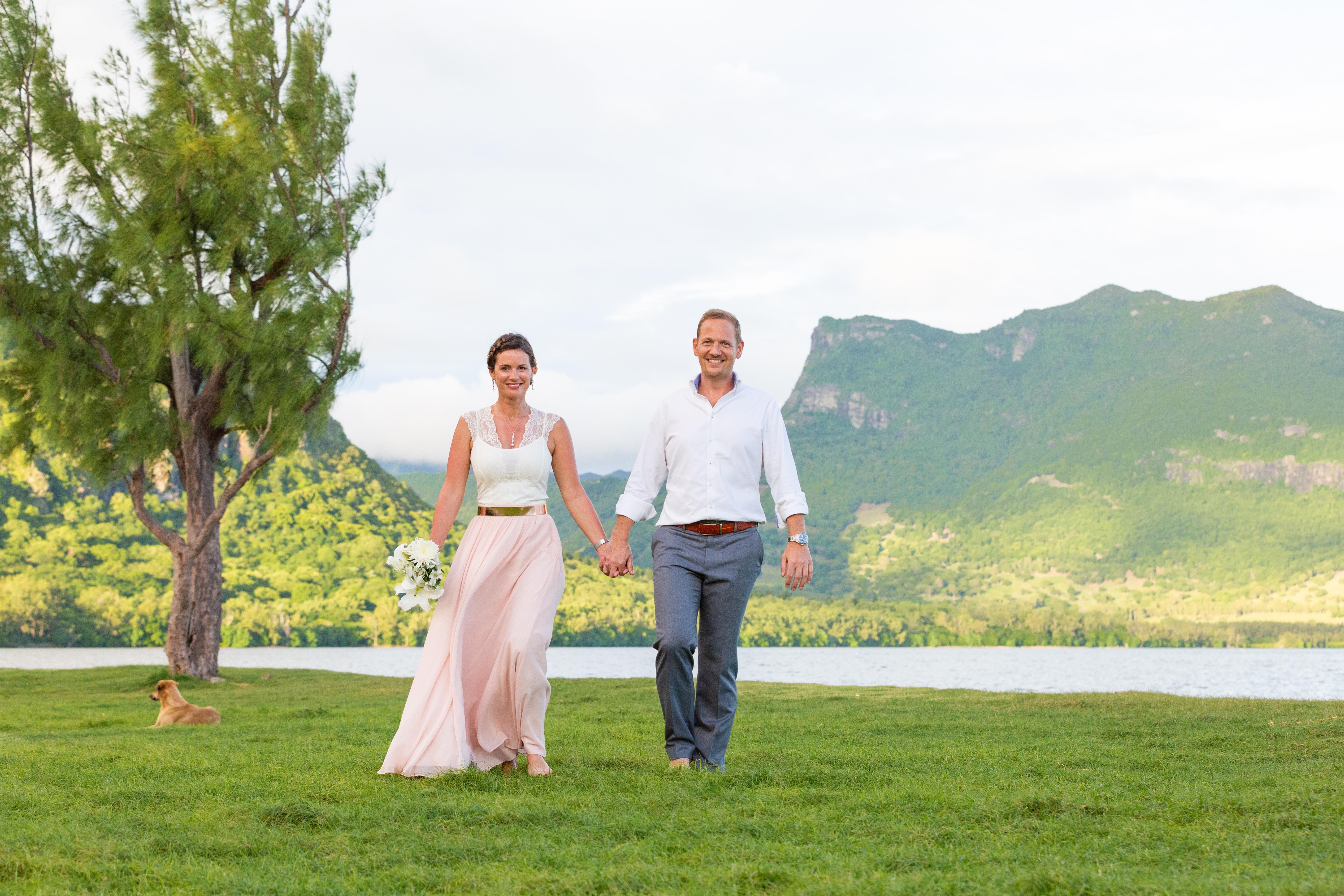 Heiraten im Grünen auf Mauritius