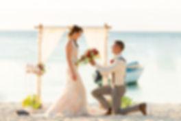 zivilrechtliche Hochzeit am Strand by Happily Forever