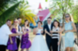 Kirchliche Hochzeit auf Mauritius