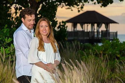Heiraten im Holzhäuschen am Meer