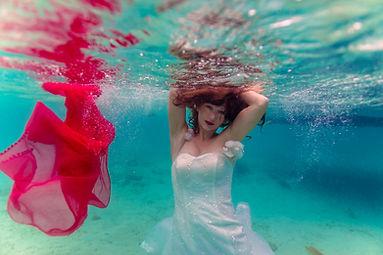 Unterwasser Hochzeit Mauritius