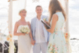 Symbolische Hochzeit auf Mauritius