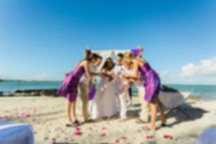 Heiraten auf einer kleinen Insel