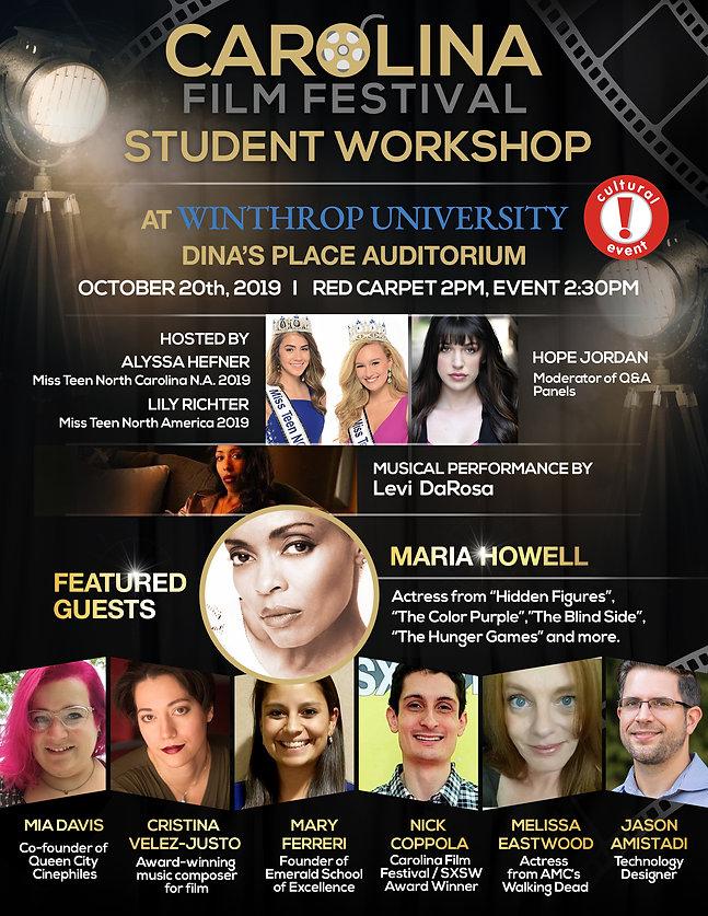 Carolina Film Festival Student Workshop.