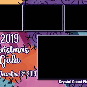 2019  Christmas Gala-booth