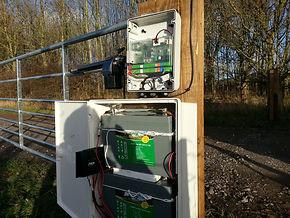 Electric gates