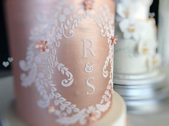 Wedding Cake Initials