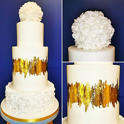 Contemporary Ruffle Wedding Cake.jpg