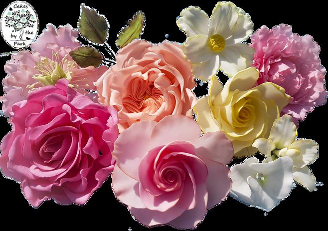 Sugar Flowers Selection