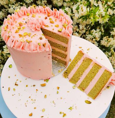 1 Tier Buttercream Cake