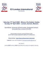 2020 C2 London Tournament Reg Form - Thu