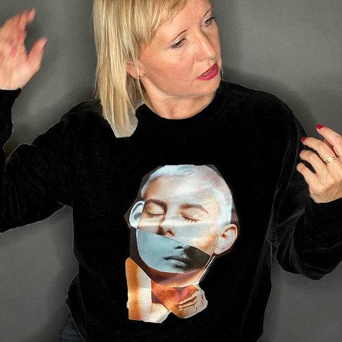 Collage Sweater Gitte Black
