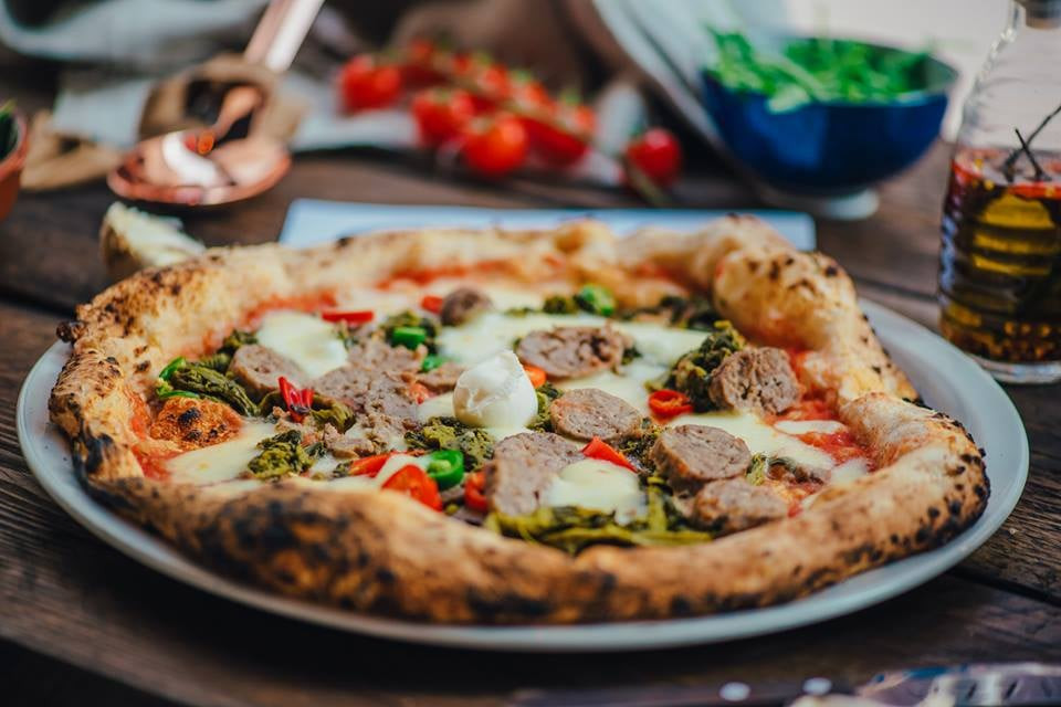 Mozza pizza in Glasgow