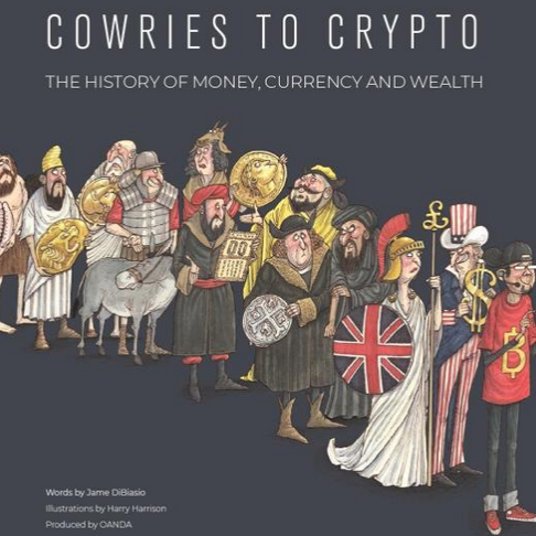 'Cowries to Crypto: The History of Money, Currency and Wealth' by Jame DiBiasio